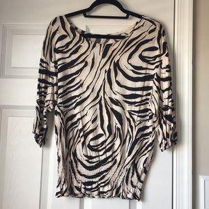 Ann Taylor Loft 3/4 sleeve shirt